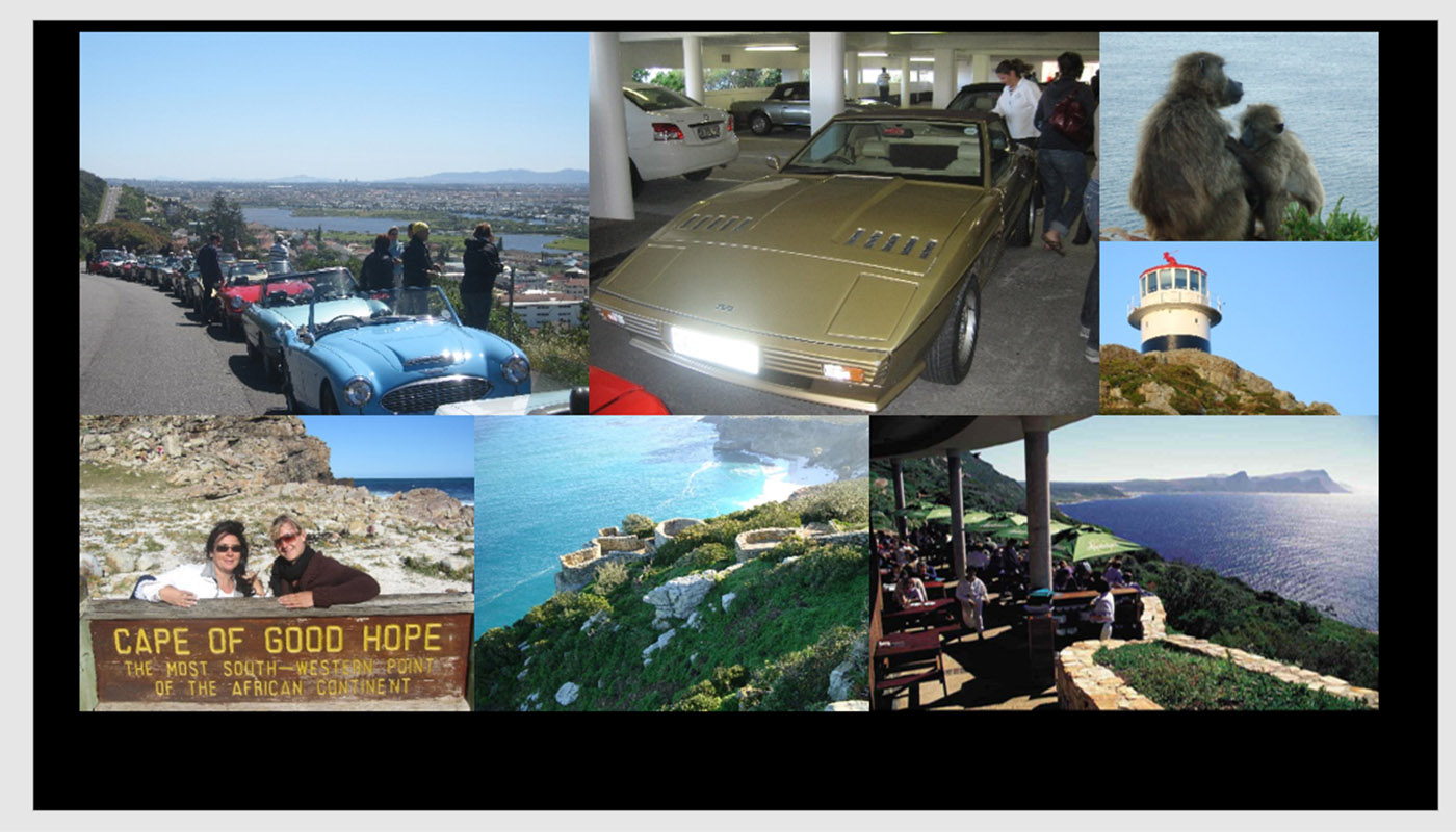 DRIVE COLLECTION SPORT CARS TO CAPE OF GOOD HOPE !