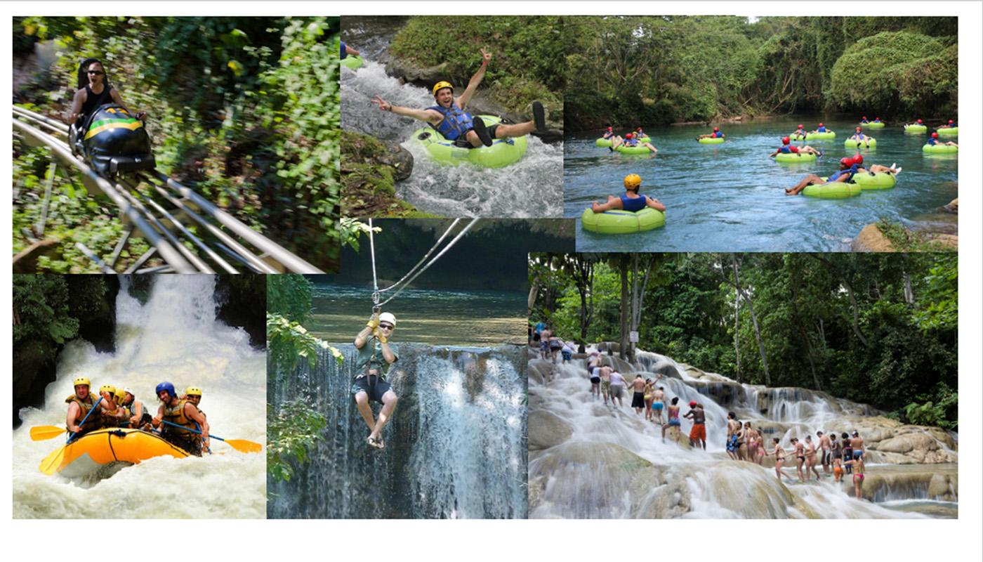 SHARE JAMAICAN RIVERS FUN GROUP ACTIVITIES