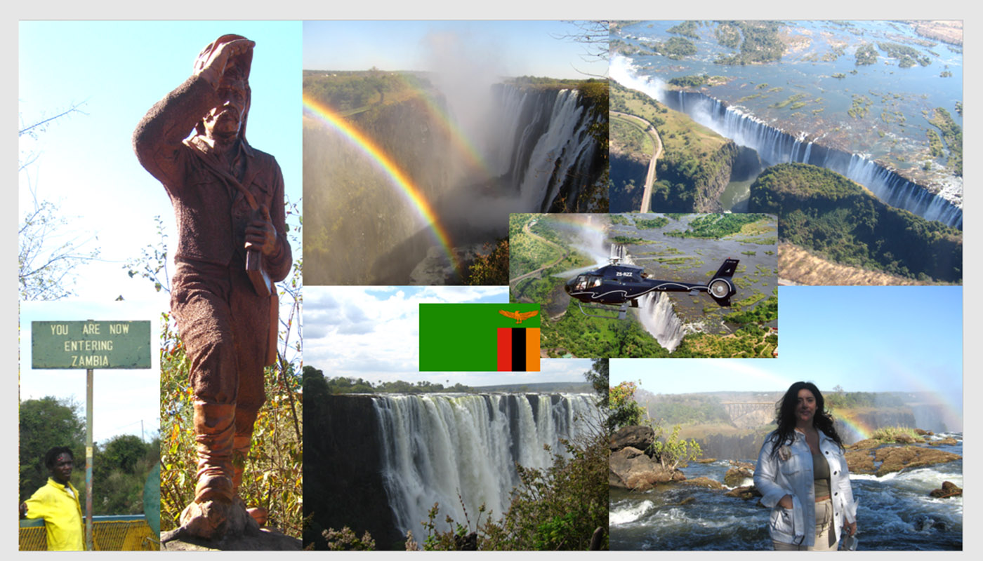 HEAD TO VICTORIA FALLS ON THE PATHS OF LIVINGSTONE