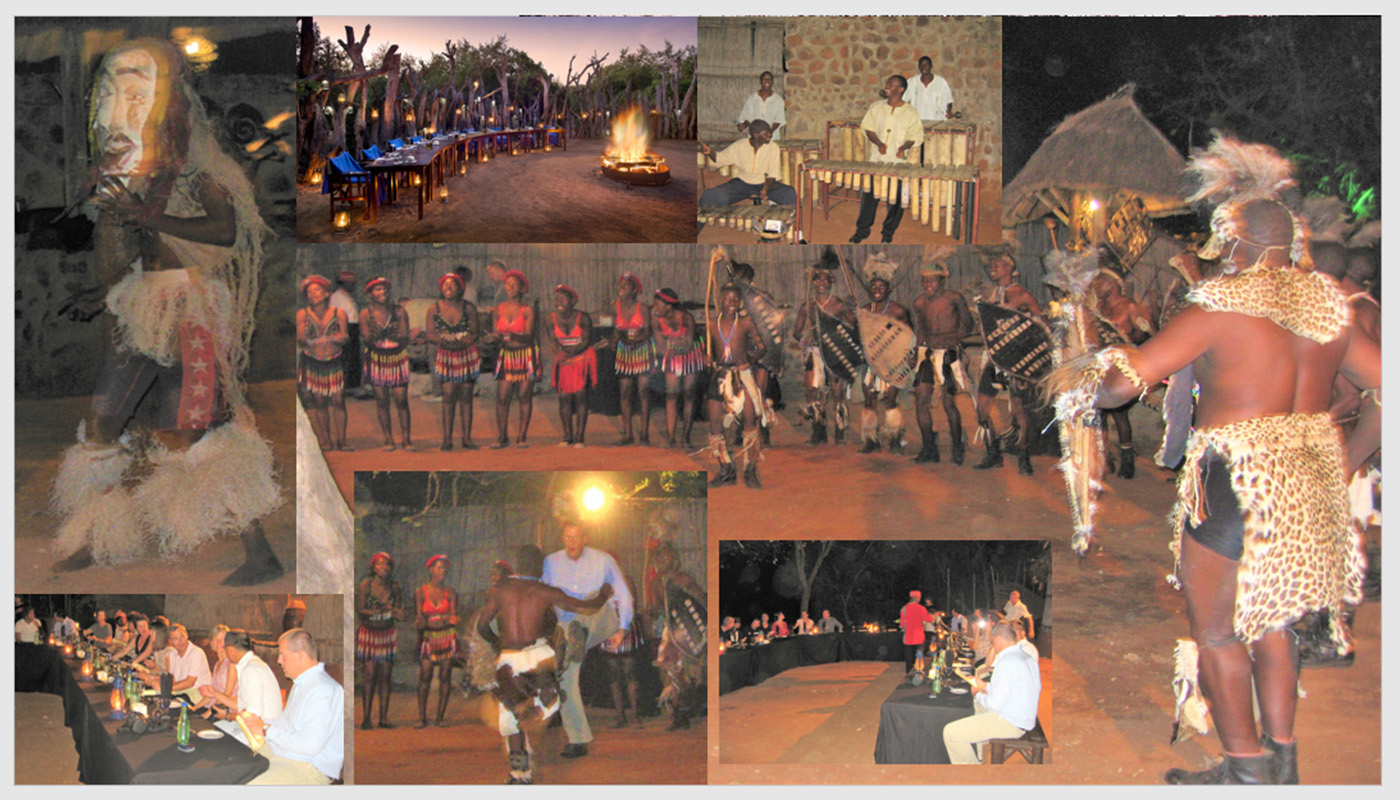 AFRICAN BOMA DINNER WITH TRADITIONAL ETHNIC DANCERS