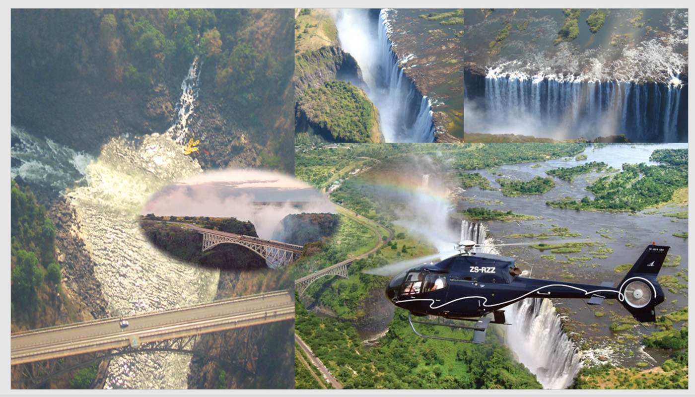 HELICOPTER TOUR OVER VICTORIA FALLS